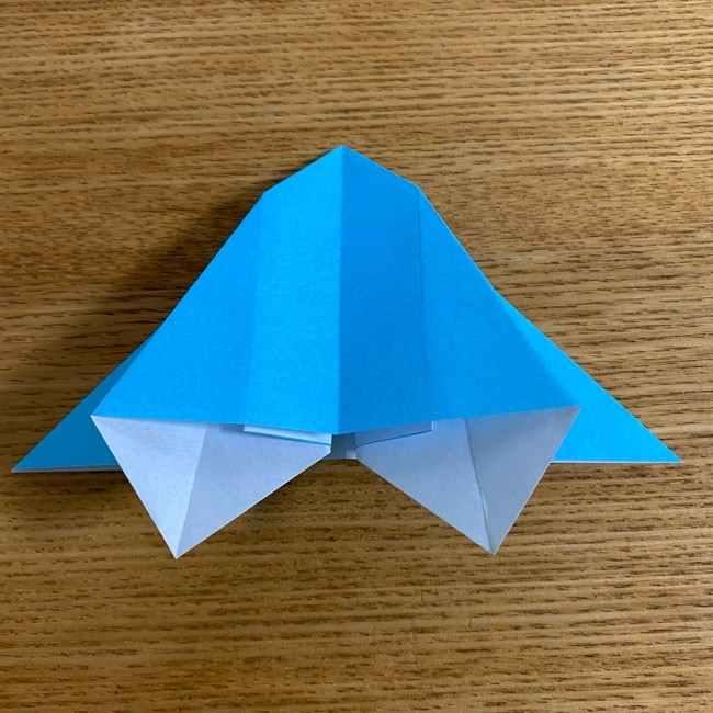 折り紙 ケロマツの簡単な折り方作り方 (18)