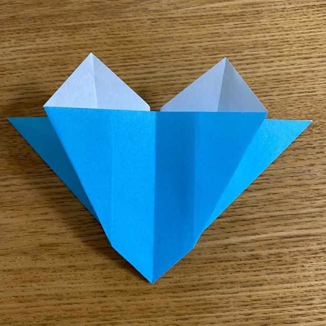 折り紙 ケロマツの簡単な折り方作り方 (19)