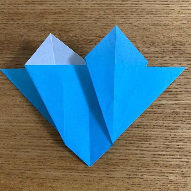 折り紙 ケロマツの簡単な折り方作り方 (21)
