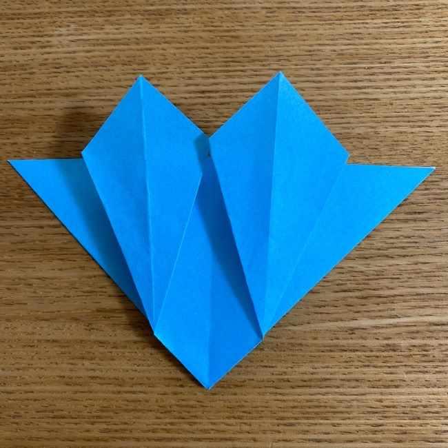 折り紙 ケロマツの簡単な折り方作り方 (22)