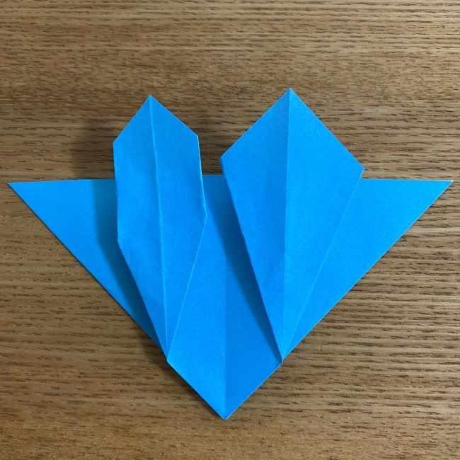 折り紙 ケロマツの簡単な折り方作り方 (23)