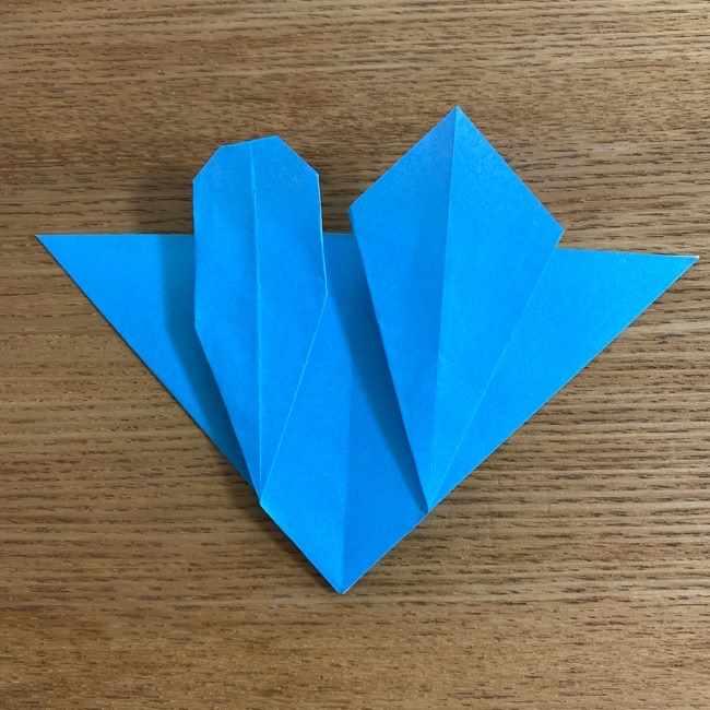 折り紙 ケロマツの簡単な折り方作り方 (24)