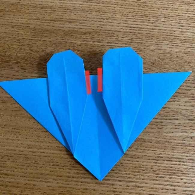 折り紙 ケロマツの簡単な折り方作り方 (26)