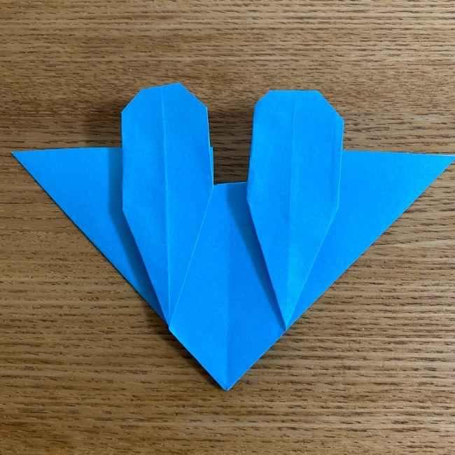 折り紙 ケロマツの簡単な折り方作り方 (27)