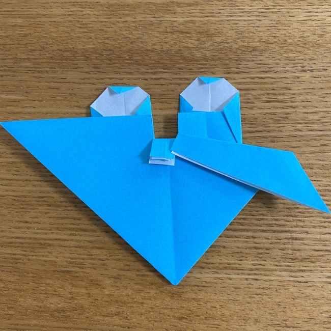 折り紙 ケロマツの簡単な折り方作り方 (28)