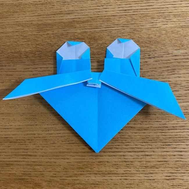 折り紙 ケロマツの簡単な折り方作り方 (29)