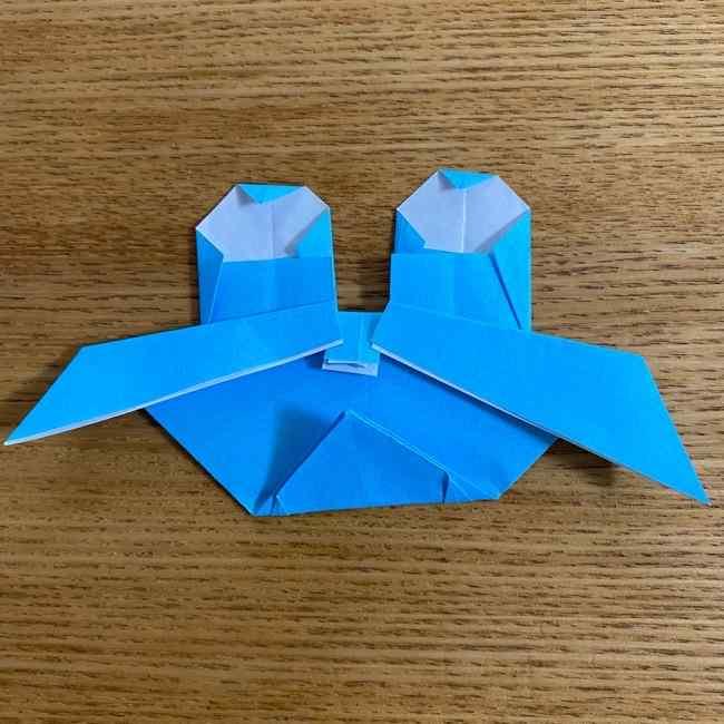 折り紙 ケロマツの簡単な折り方作り方 (30)