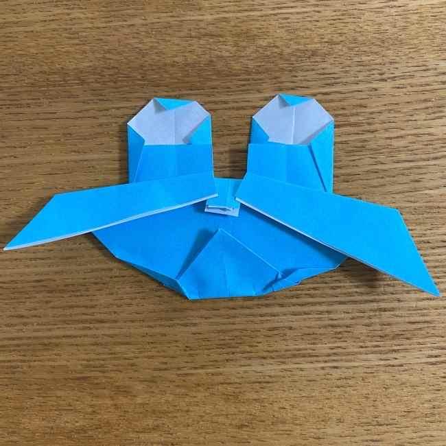 折り紙 ケロマツの簡単な折り方作り方 (31)