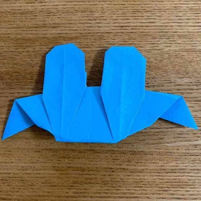 折り紙 ケロマツの簡単な折り方作り方 (32)