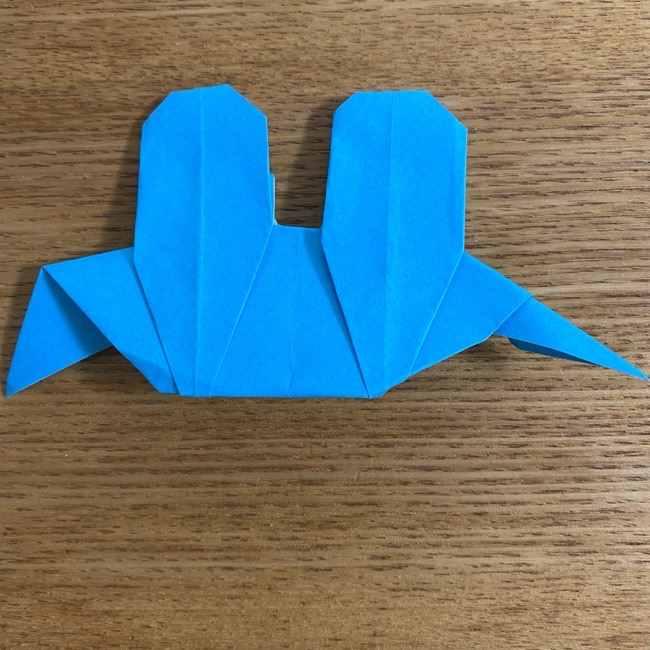 折り紙 ケロマツの簡単な折り方作り方 (33)