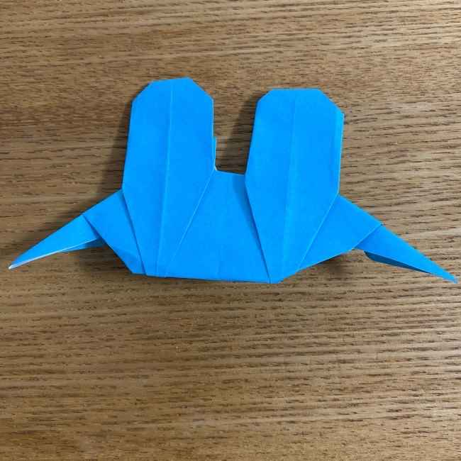 折り紙 ケロマツの簡単な折り方作り方 (34)