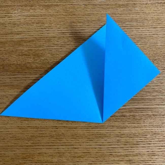 折り紙 ケロマツの簡単な折り方作り方 (4)