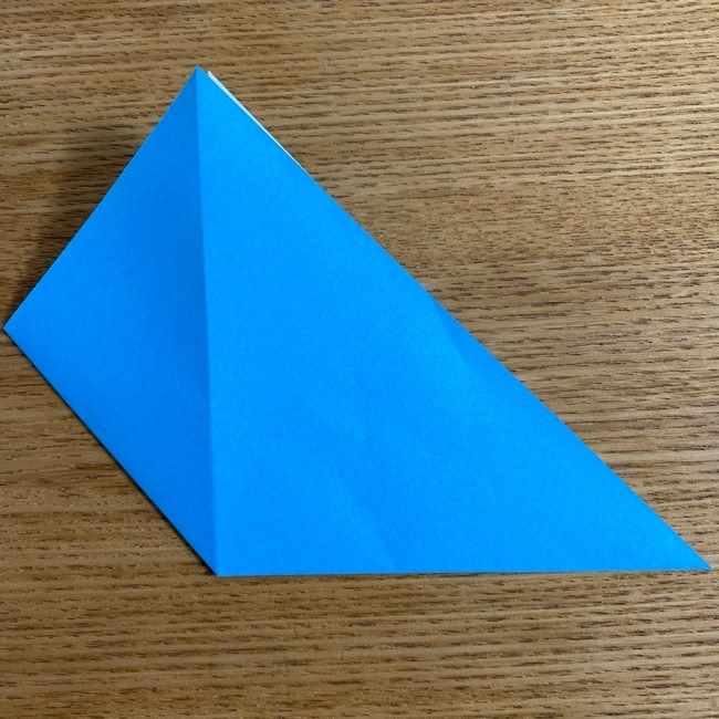 折り紙 ケロマツの簡単な折り方作り方 (5)