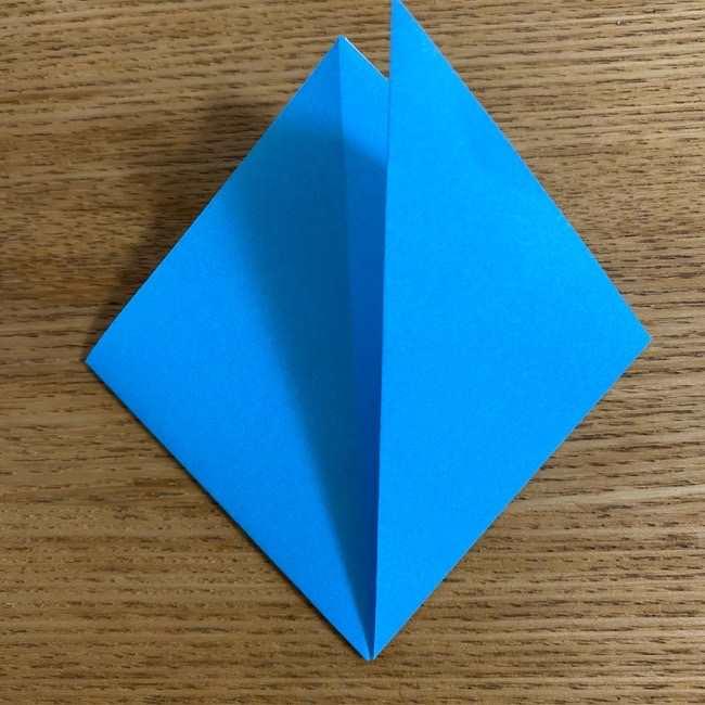 折り紙 ケロマツの簡単な折り方作り方 (6)