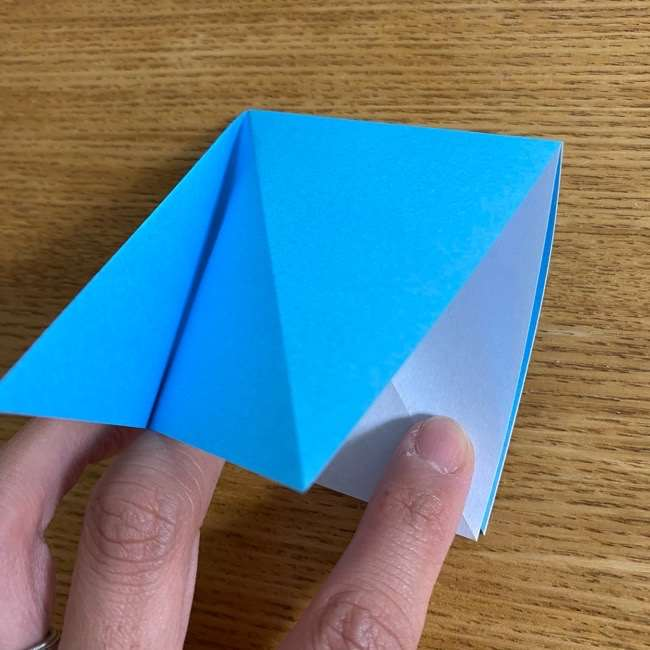 折り紙 ケロマツの簡単な折り方作り方 (7)