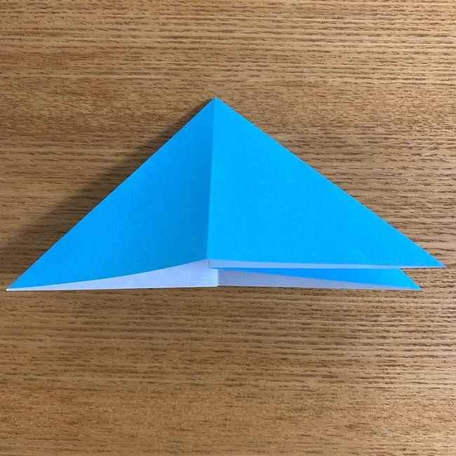折り紙 ケロマツの簡単な折り方作り方 (8)