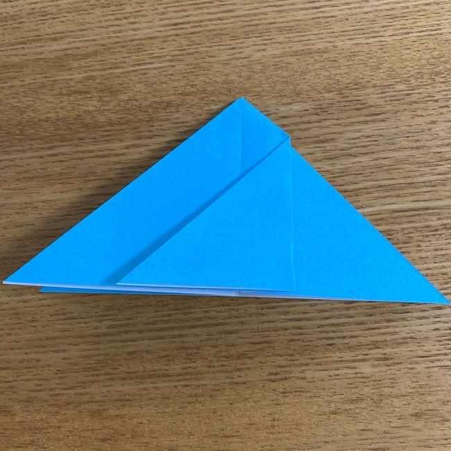 折り紙 ケロマツの簡単な折り方作り方 (9)