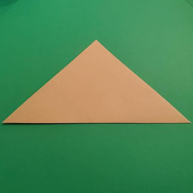 折り紙 ソフトクリーム&コーンの簡単な折り方(2)