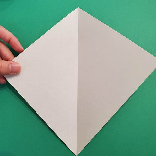折り紙 ソフトクリーム&コーンの簡単な折り方(3)