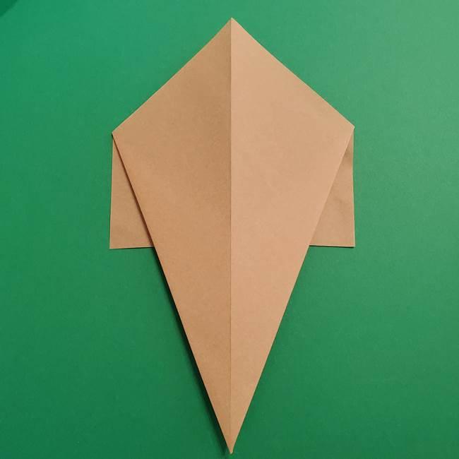 折り紙 ソフトクリーム&コーンの簡単な折り方(6)