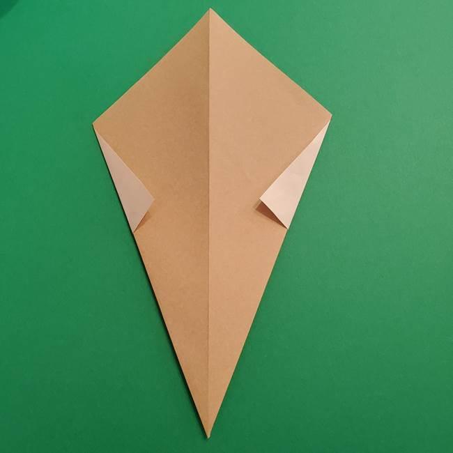 折り紙 ソフトクリーム&コーンの簡単な折り方(7)