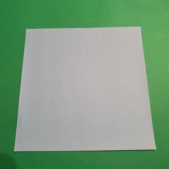 折り紙 ポケモンのカメックス*必要な物(1)