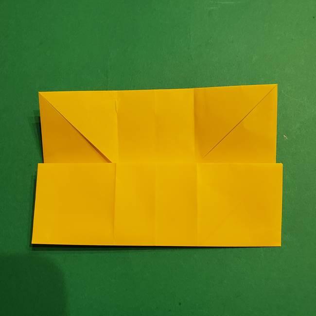 折り紙 ミニオンの立体的な箱*折り方作り方(12)