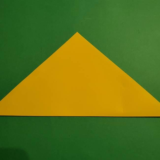 折り紙 ミニオンの立体的な箱*折り方作り方(2)