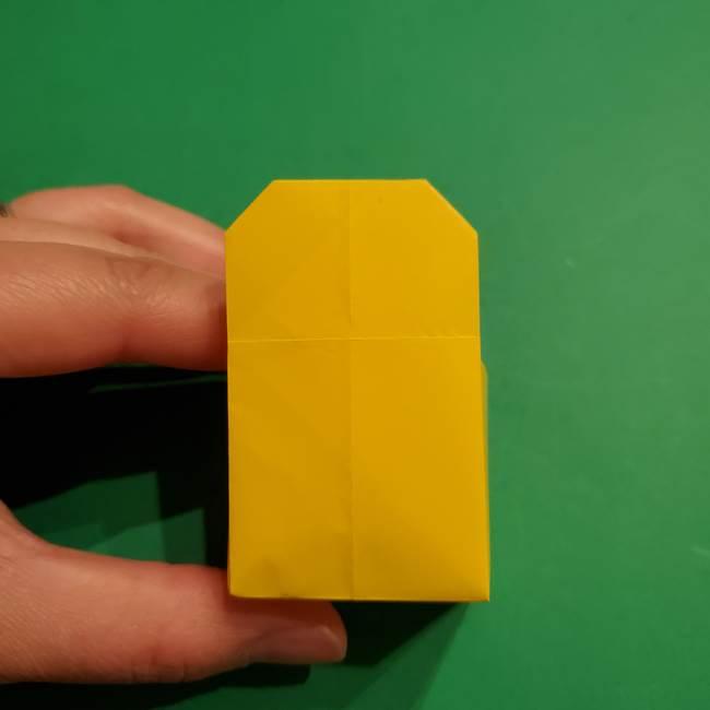 折り紙 ミニオンの立体的な箱*折り方作り方(21)