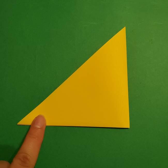 折り紙 ミニオンの立体的な箱*折り方作り方(3)