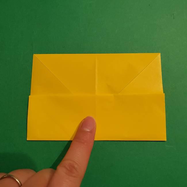 折り紙 ミニオンの立体的な箱*折り方作り方(6)