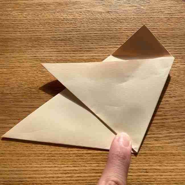桜の折り紙 メッセージカードの折り方作り方 (10)