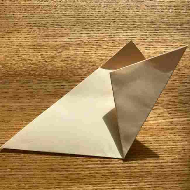 桜の折り紙 メッセージカードの折り方作り方 (11)