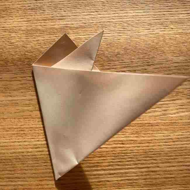 桜の折り紙 メッセージカードの折り方作り方 (12)
