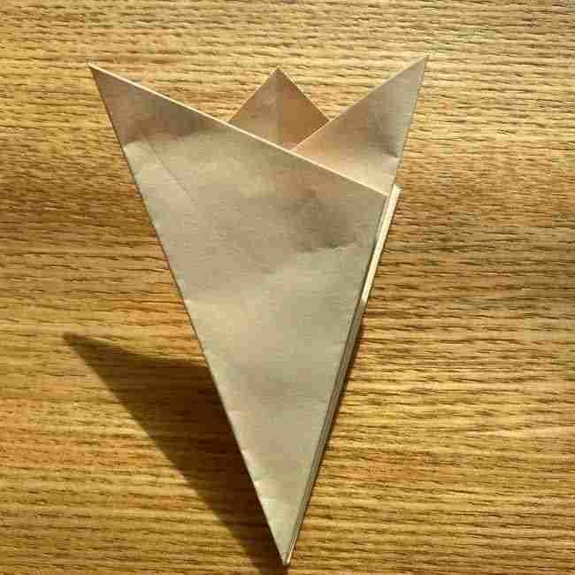 桜の折り紙 メッセージカードの折り方作り方 (13)