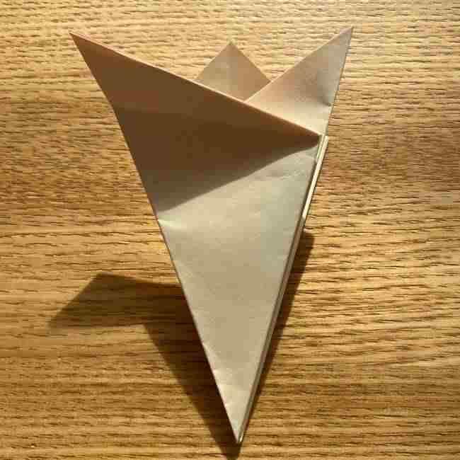 桜の折り紙 メッセージカードの折り方作り方 (16)