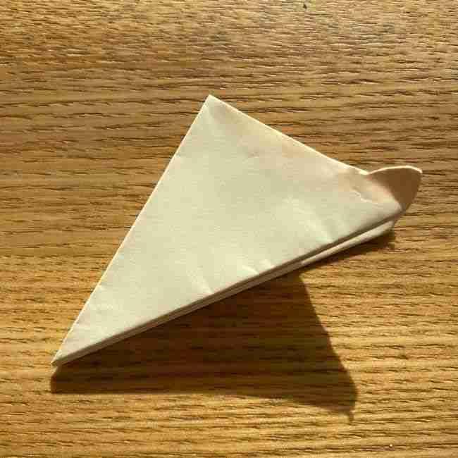 桜の折り紙 メッセージカードの折り方作り方 (18)