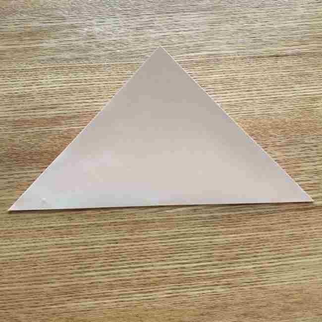 桜の折り紙 メッセージカードの折り方作り方 (2)