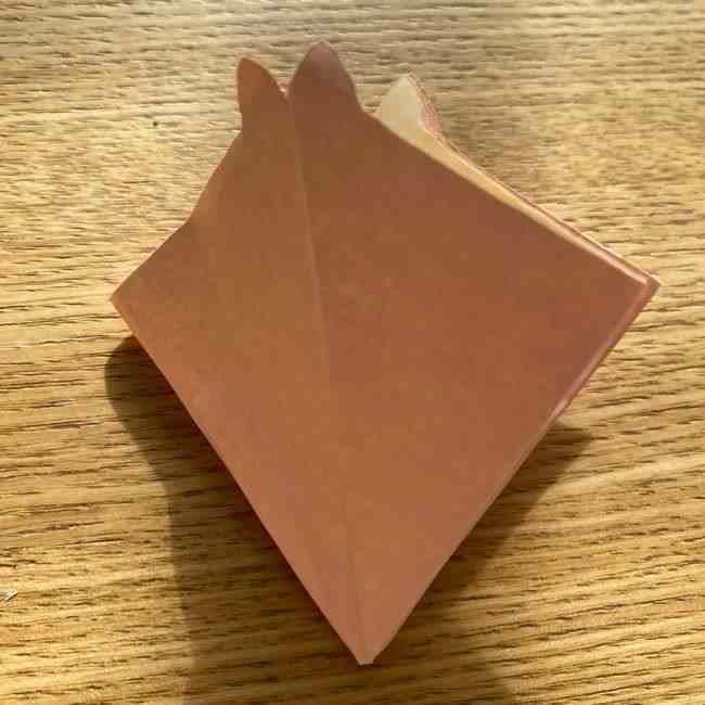 桜の折り紙 メッセージカードの折り方作り方 (23)