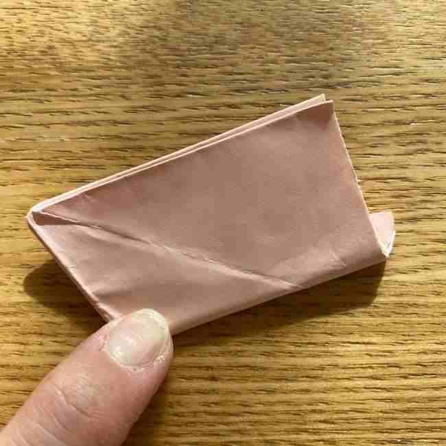 桜の折り紙 メッセージカードの折り方作り方 (26)