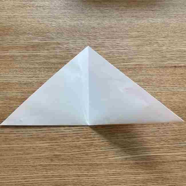 桜の折り紙 メッセージカードの折り方作り方 (4)