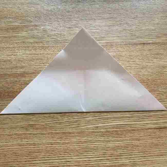 桜の折り紙 メッセージカードの折り方作り方 (8)