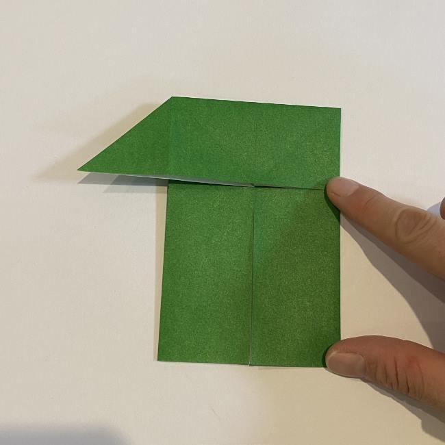 跳ねないカエルの折り紙*折り方作り方 (10)