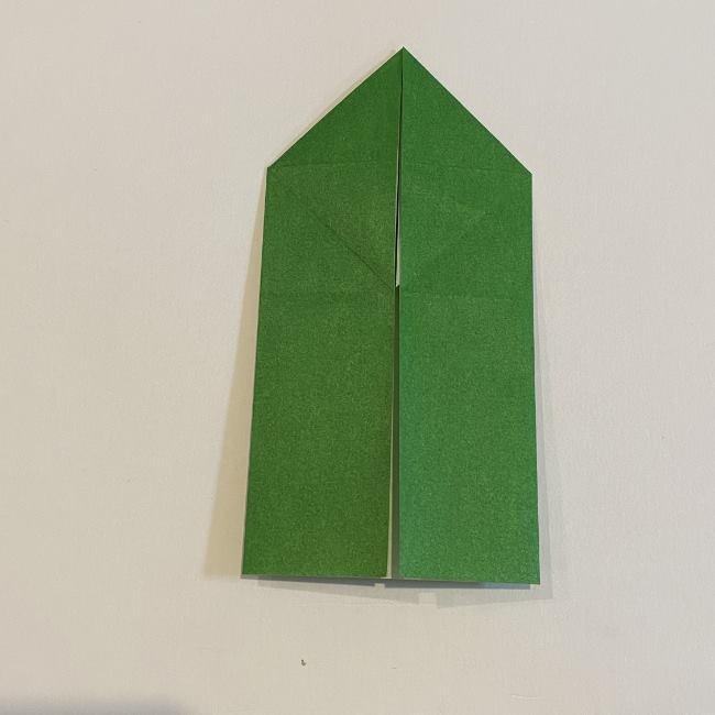 跳ねないカエルの折り紙*折り方作り方 (13)