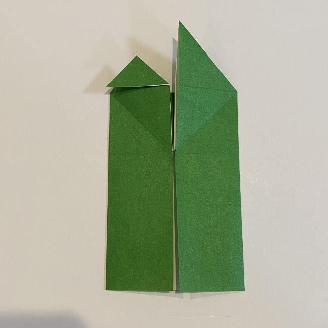 跳ねないカエルの折り紙*折り方作り方 (14)