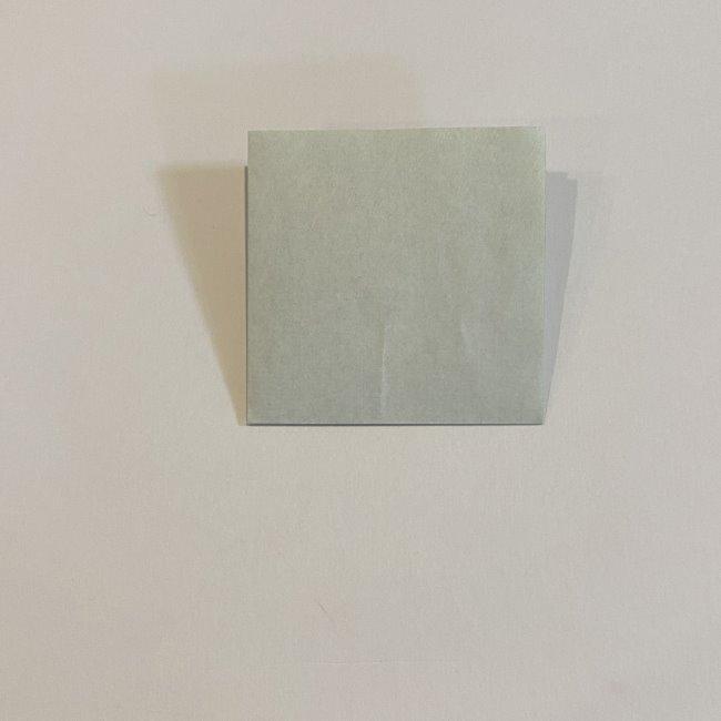 跳ねないカエルの折り紙*折り方作り方 (3)