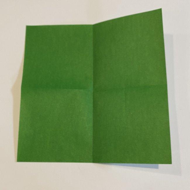 跳ねないカエルの折り紙*折り方作り方 (4)