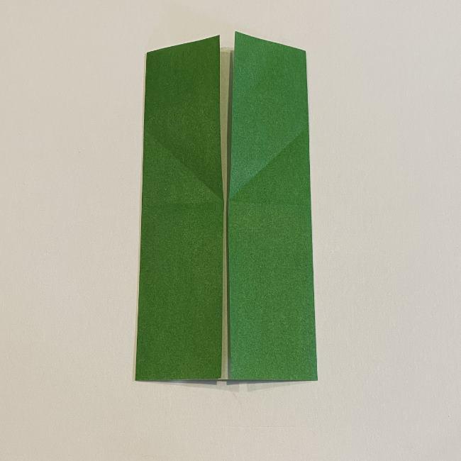 跳ねないカエルの折り紙*折り方作り方 (7)