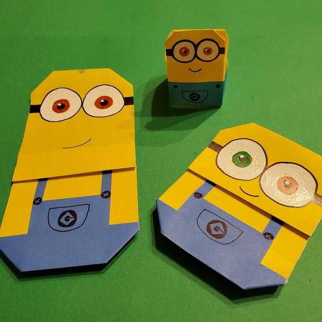 折り紙の折り方 キャラクターミニオンの箱まとめ