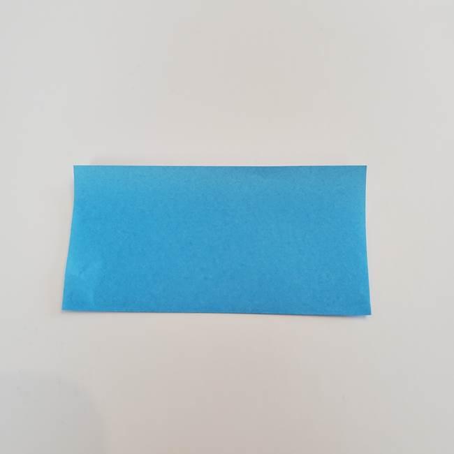 「朝顔(あさがお)のつぼみの折り紙 簡単な作り方折り方」(2)